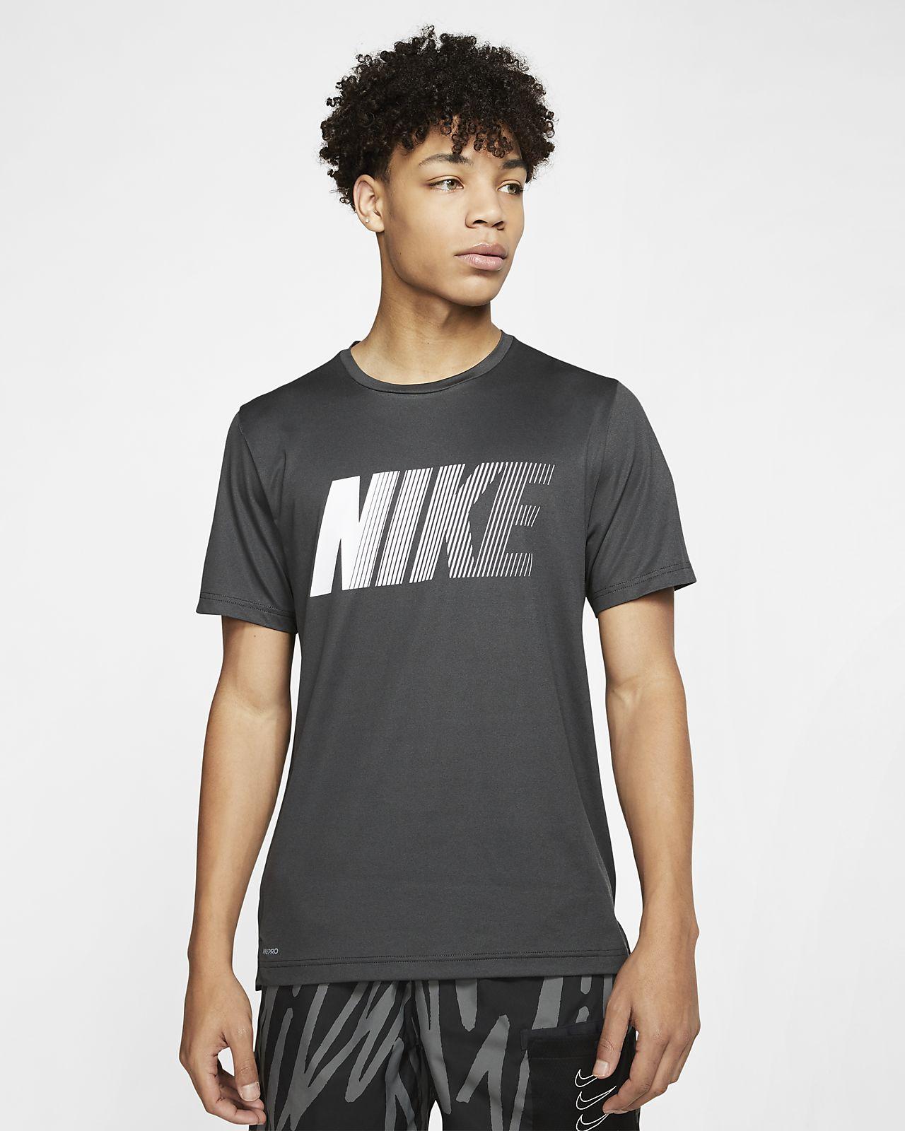 Nike Dri-FIT 男子印花短袖训练上衣
