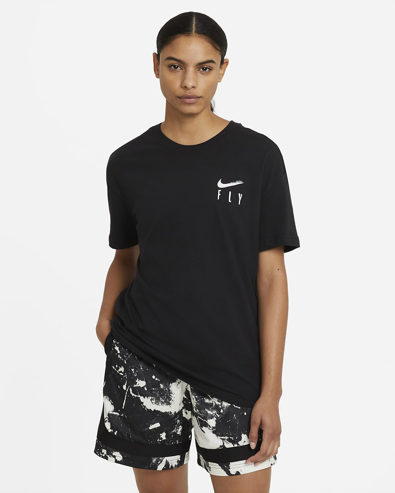 Nike Fly Damen-Basketball-T-Shirt