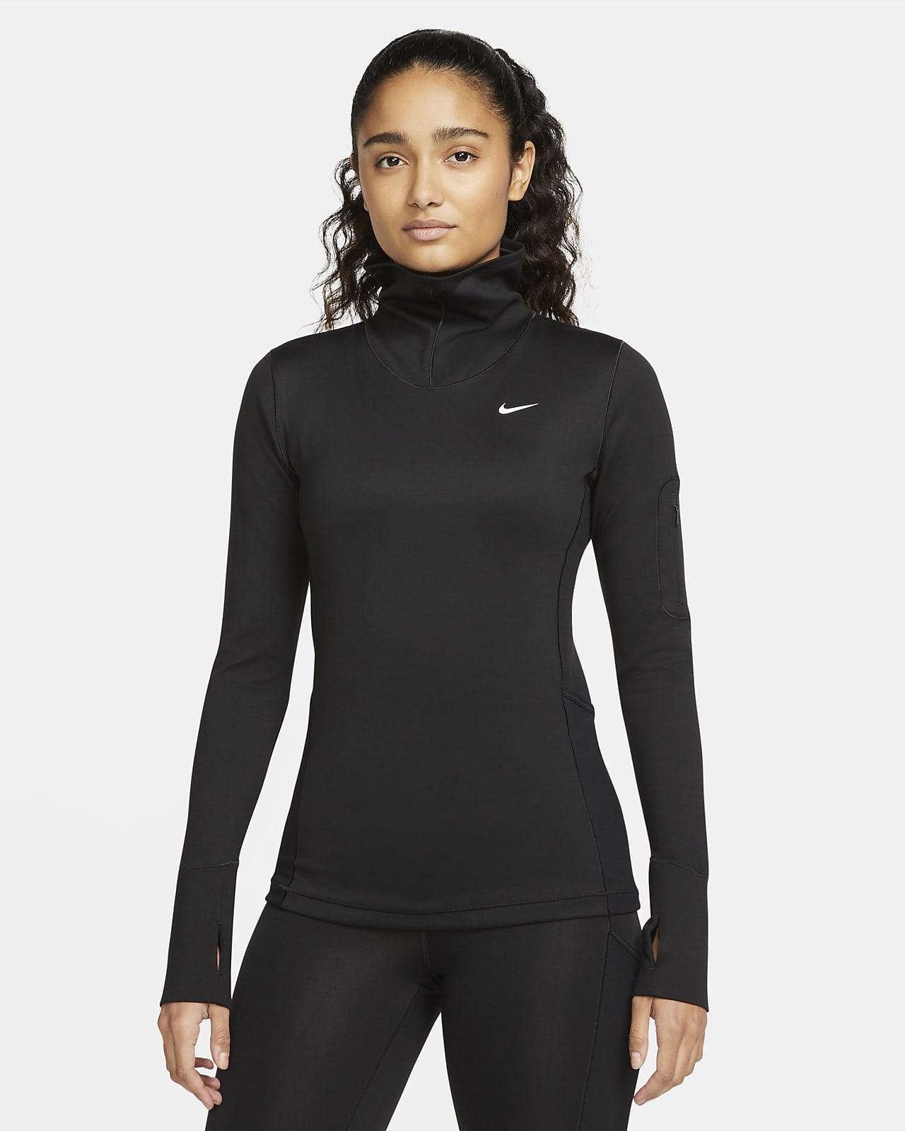 Prenda para la parte superior de manga larga para mujer Nike Pro Therma-FIT