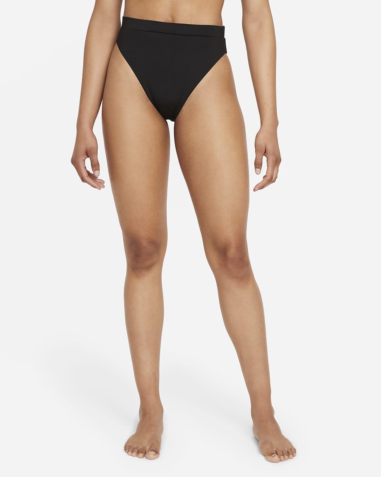 Dámský spodní díl plavek Nike Essential svysokým pasem