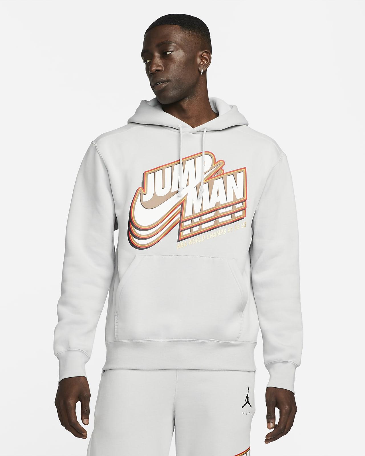 Sweat à capuche en tissu Fleece Jordan Jumpman pour Homme