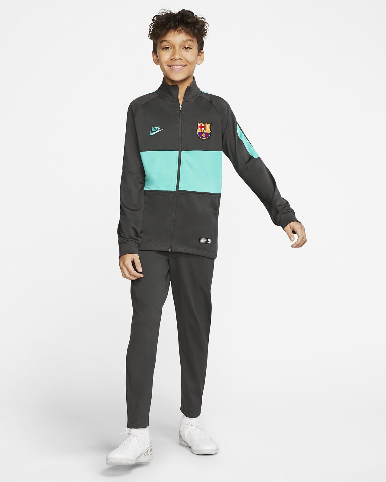 Футбольный костюм для школьников Nike Dri-FIT FC Barcelona Strike