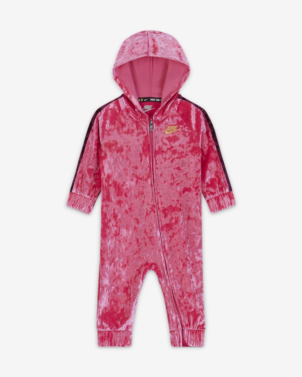 Nike-heldragt med lynlås til babyer (0-9 mdr.)