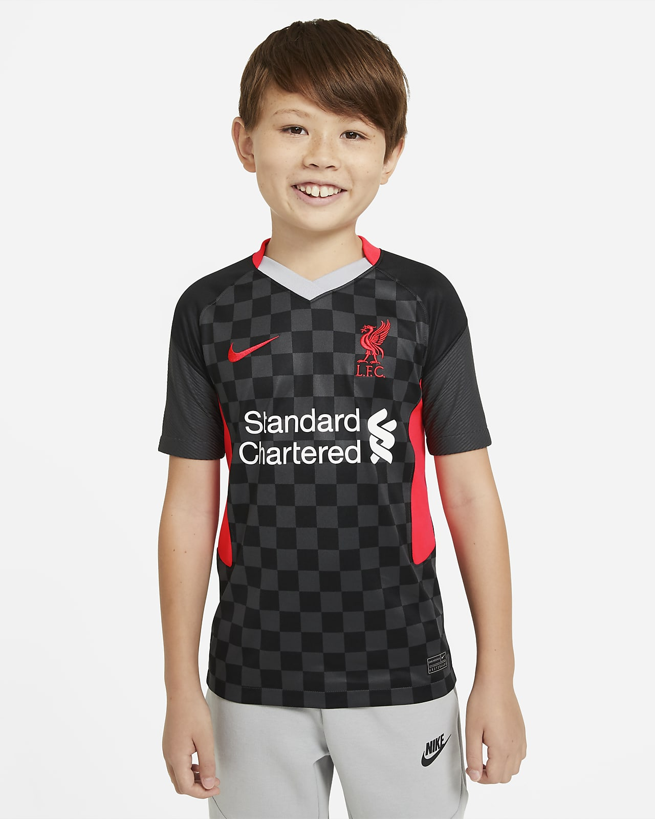 Liverpool F.C. 2020/21 Stadium Third Older Kids' Football Shirt