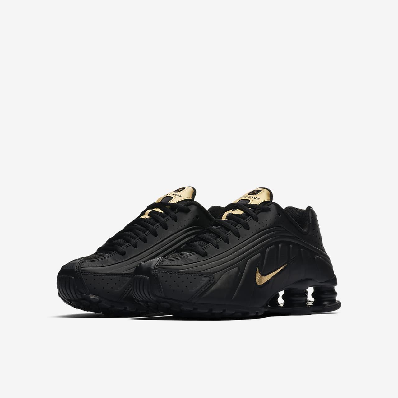Nike Shox R4 sko til store børn. Nike DK