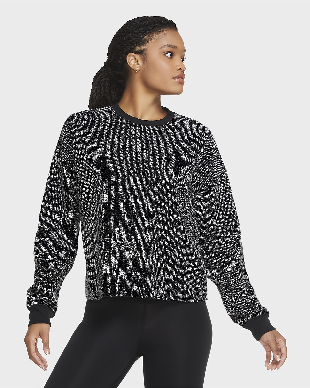 Nike Yoga Damen-Rundhalsshirt