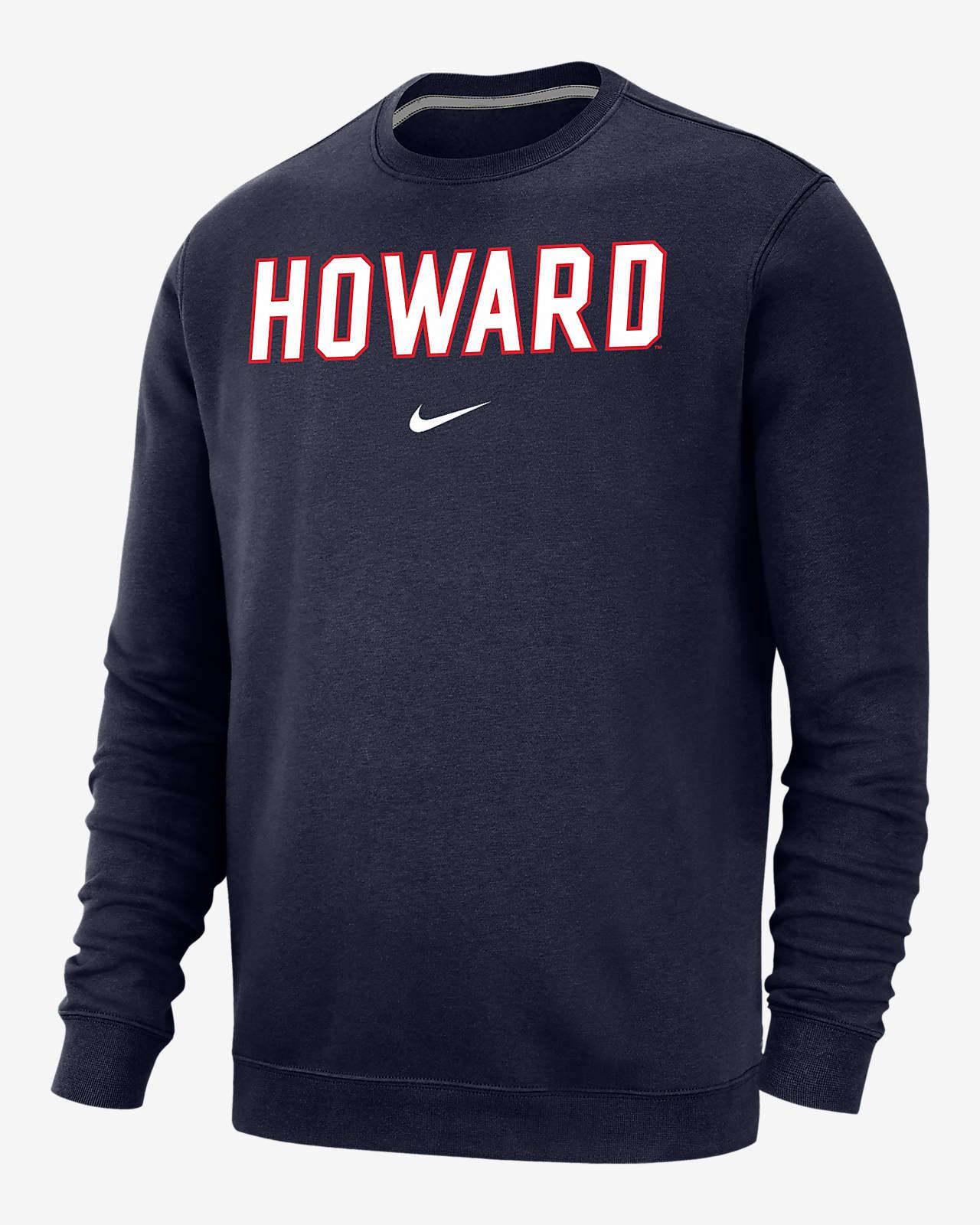 Nike College Club Fleece (Howard) Crew Sweatshirt