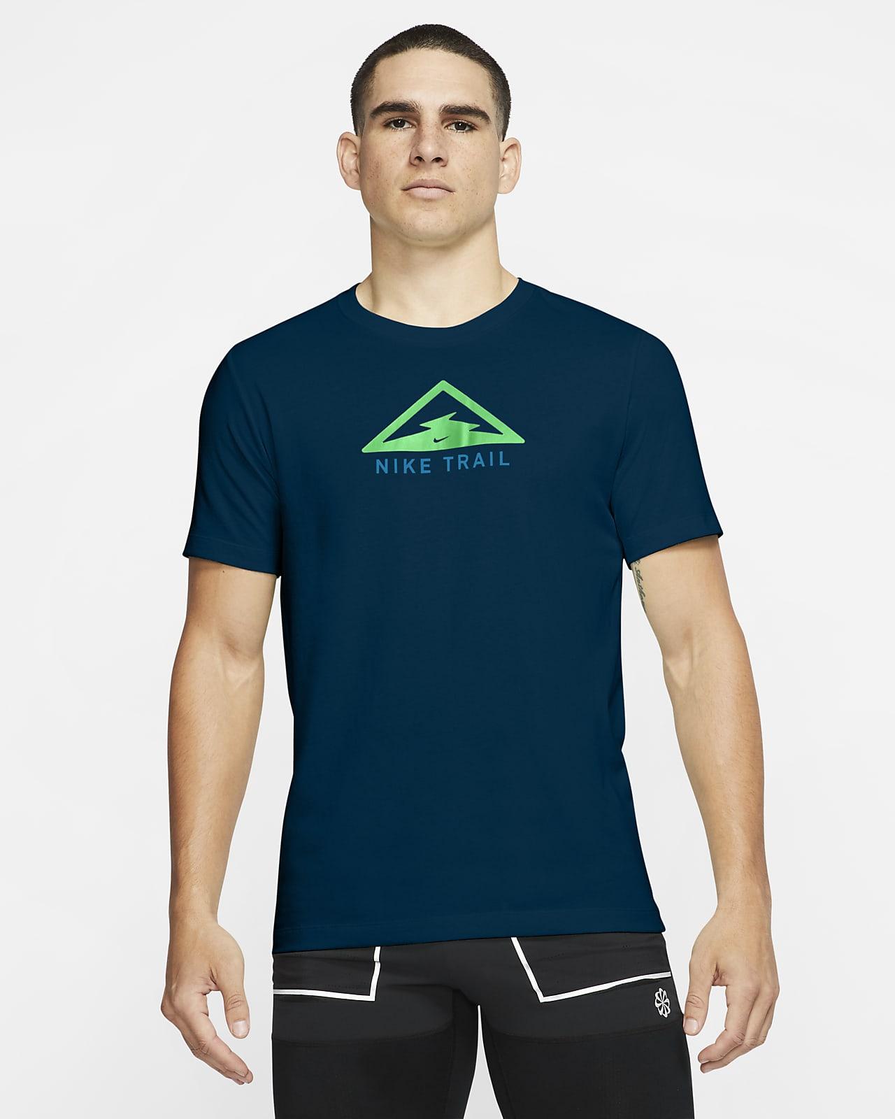 Ανδρικό T-Shirt για τρέξιμο σε ανώμαλο δρόμο Nike Dri-FIT Trail