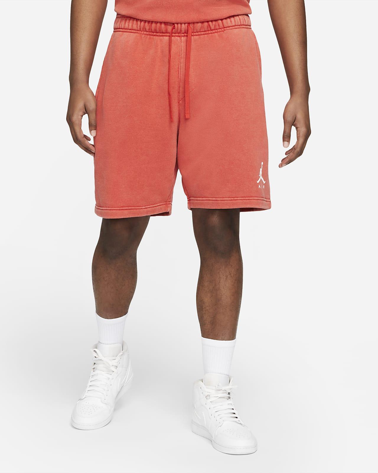 Shorts de tejido Fleece desgastados para hombre Jordan Jumpman