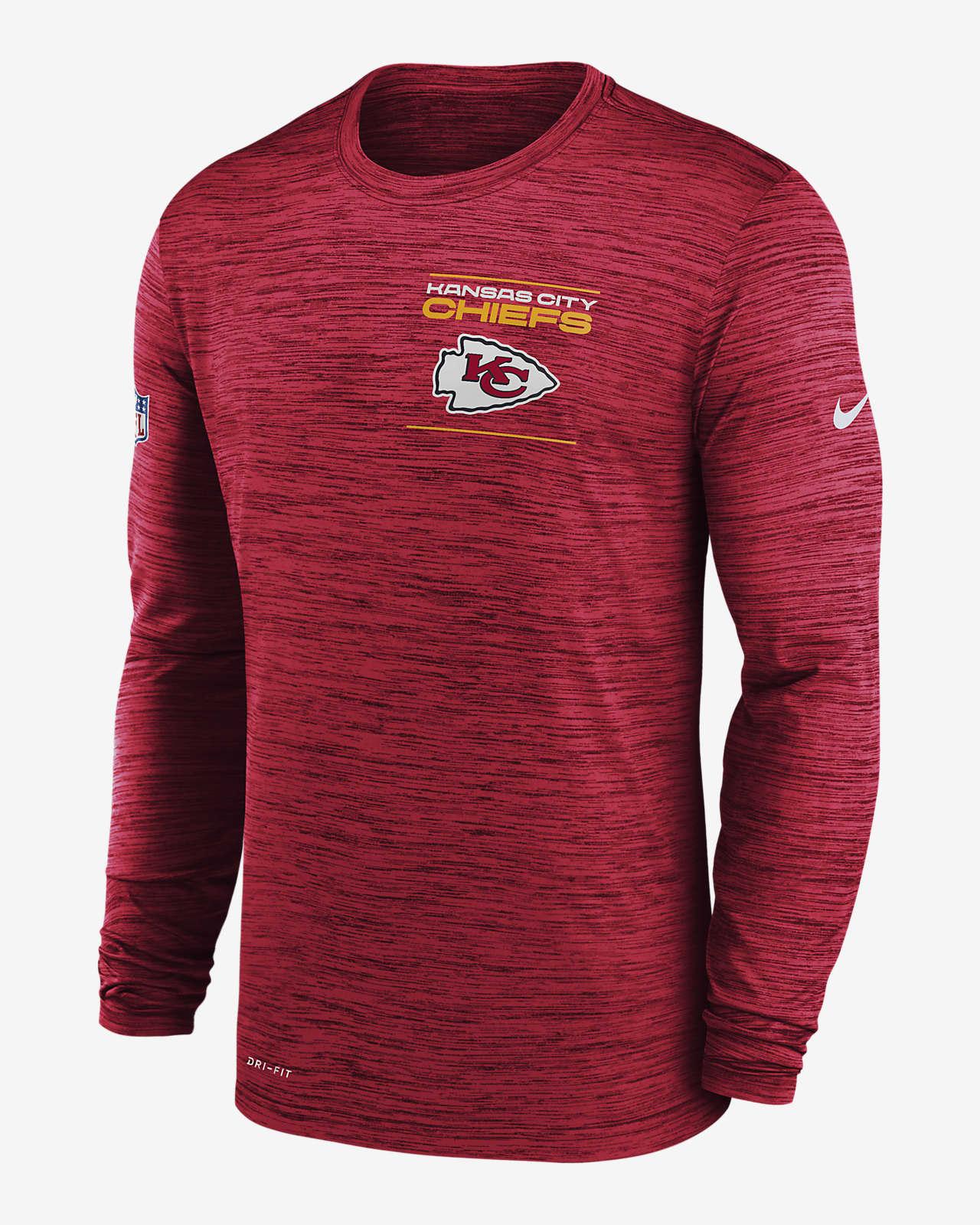 Nike Dri-FIT Sideline Velocity Legend (NFL Kansas City Chiefs) Men's Long-Sleeve T-Shirt