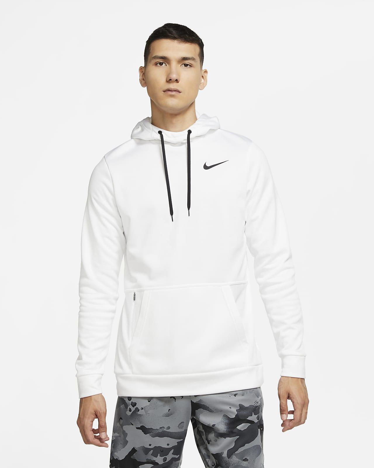 Sudadera con gorro de entrenamiento sin cierre para hombre Nike Therma