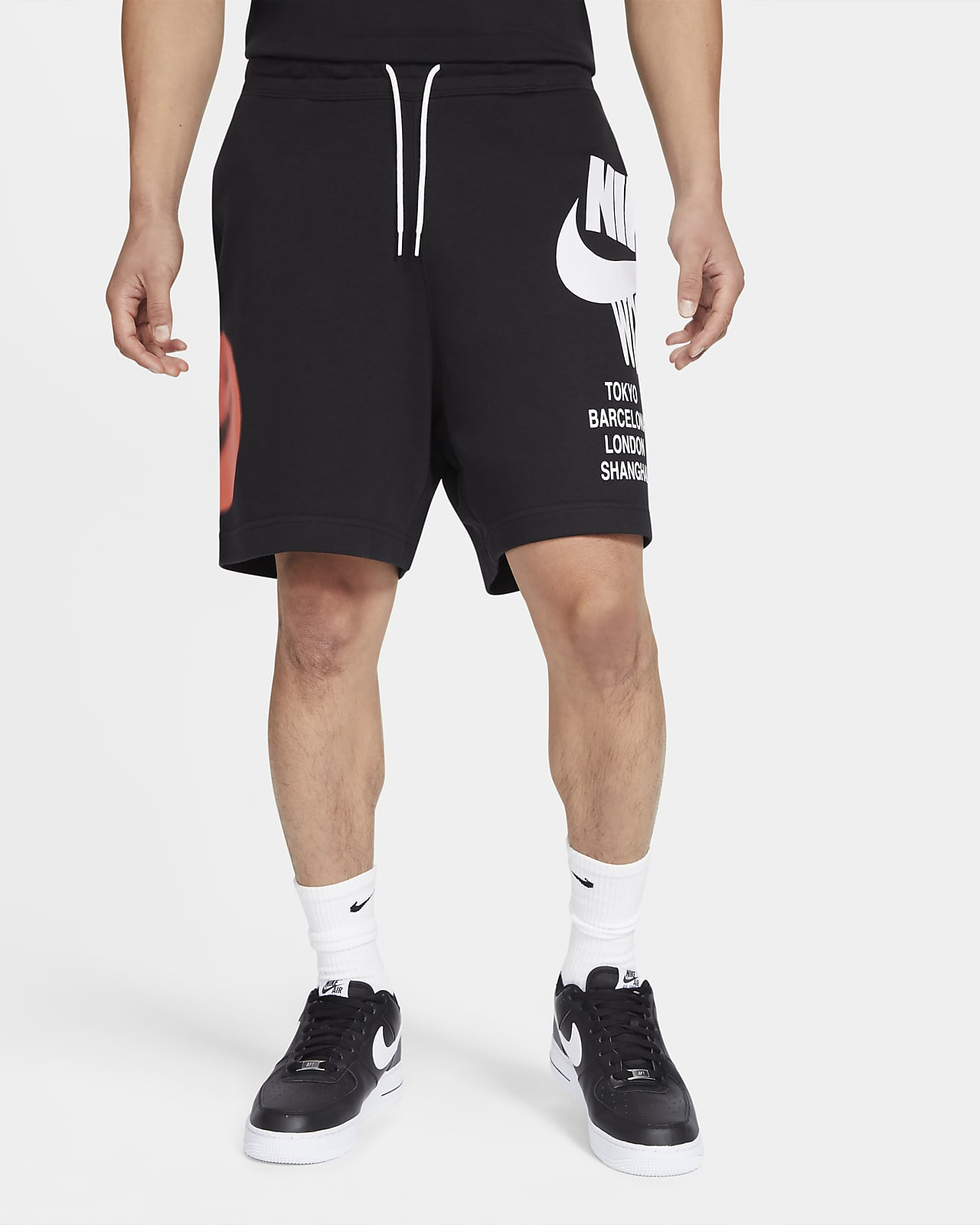 Nike Sportswear French Terry-shorts til mænd