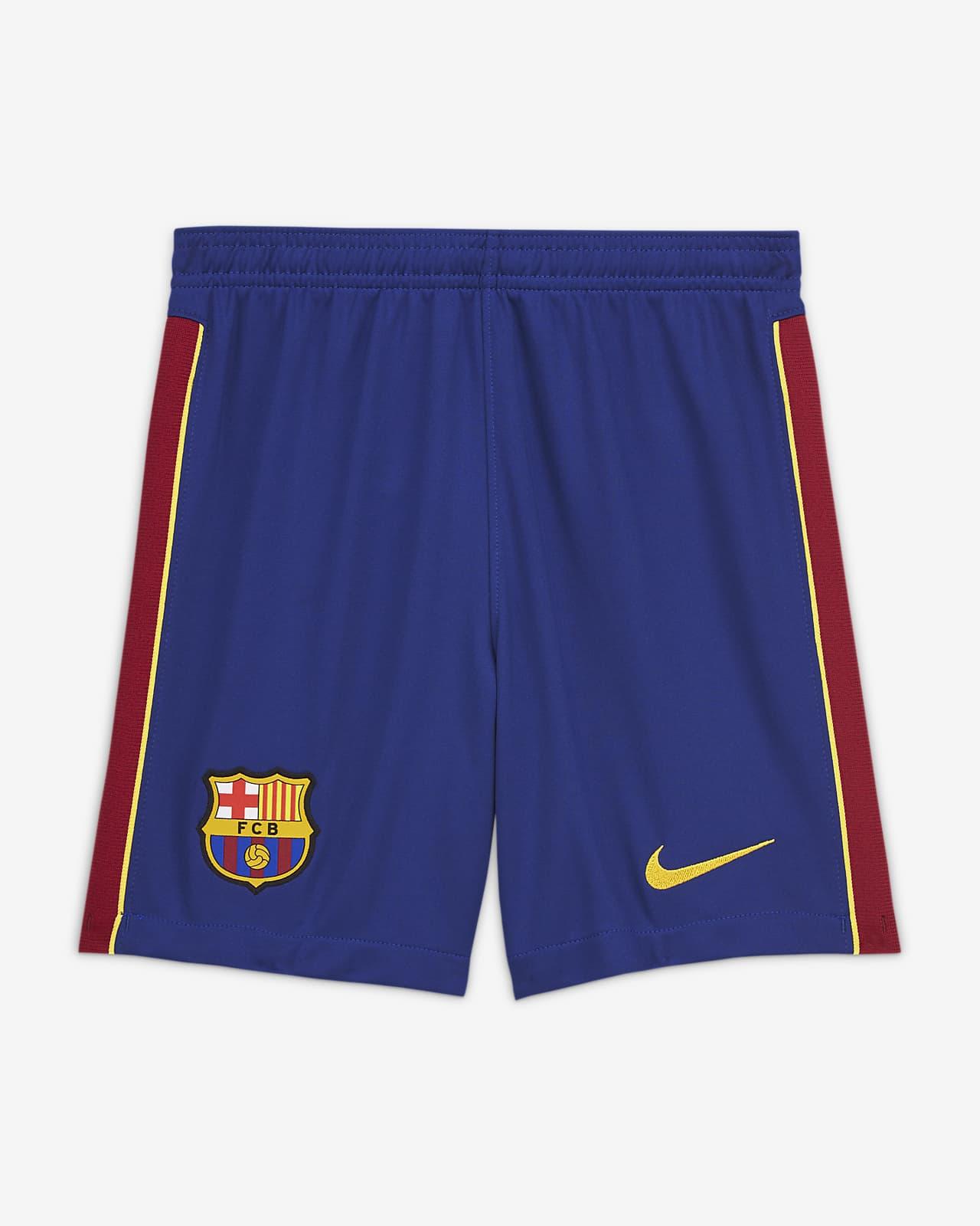 Short de football FC Barcelona 202021 Stadium DomicileExtérieur pour Enfant plus âgé