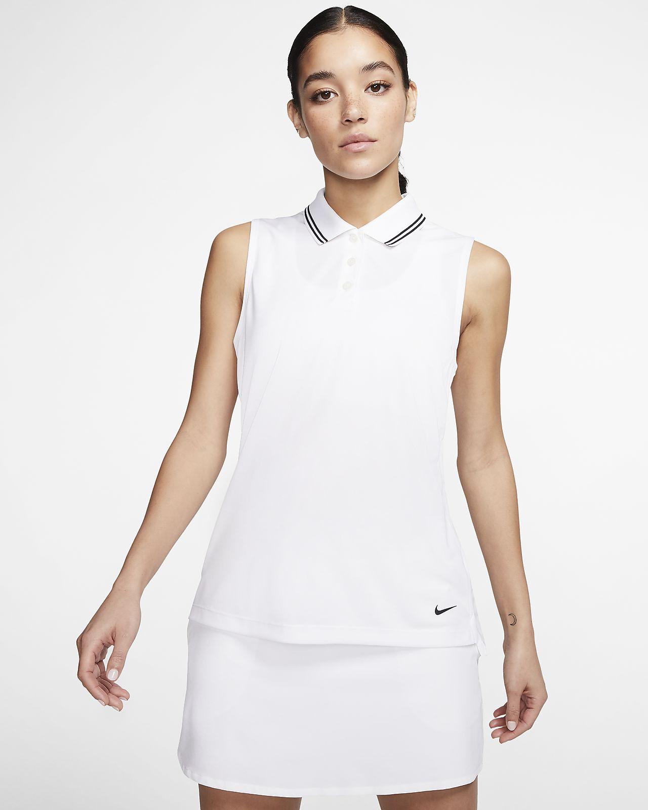 Polo de golf sans manches Nike Dri-FIT Victory pour Femme