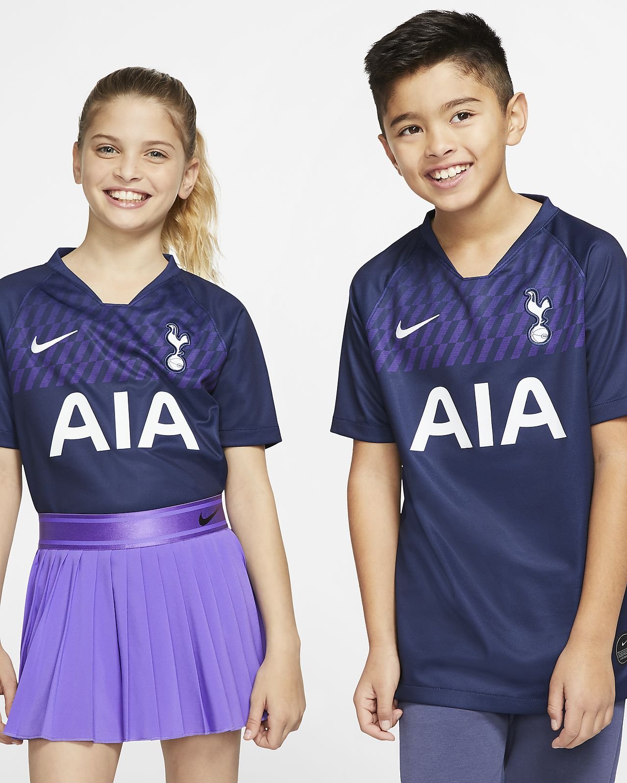 Tottenham Hotspur 2019/20 Stadium Away Older Kids' Football Shirt