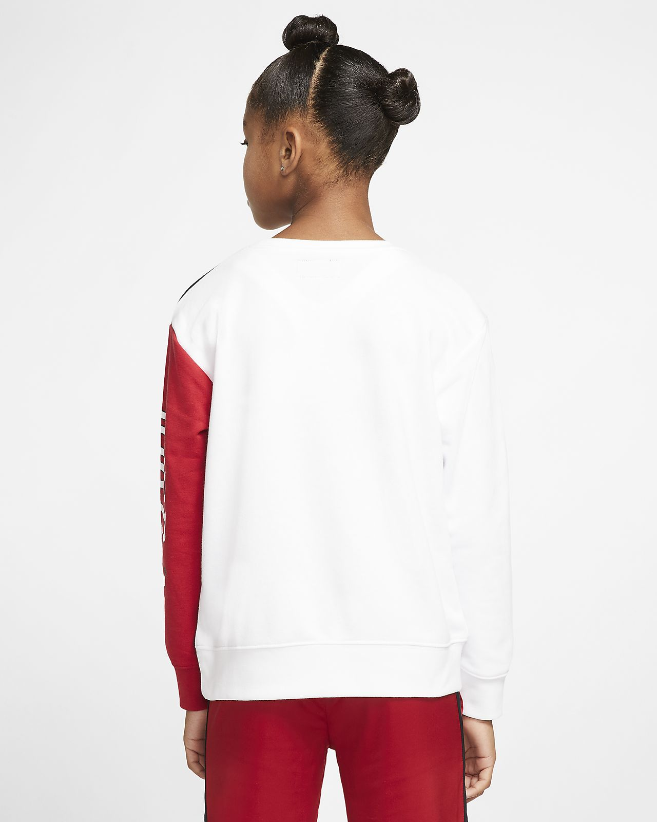 Jordan Older Kids' (Girls') Colour-Blocked Crew. Nike SI