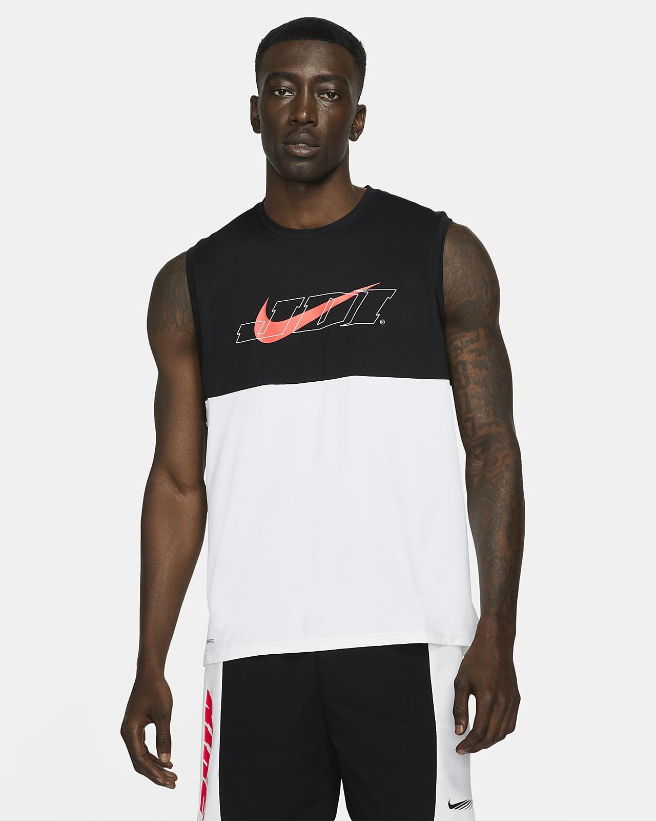 Pánské tílko Nike Pro Dri-FIT Sport Clash spotiskem