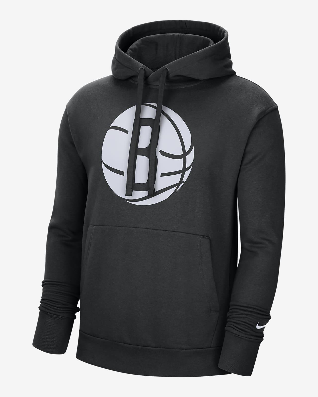 Hoodie pullover NBA Nike Brooklyn Nets Essential para homem