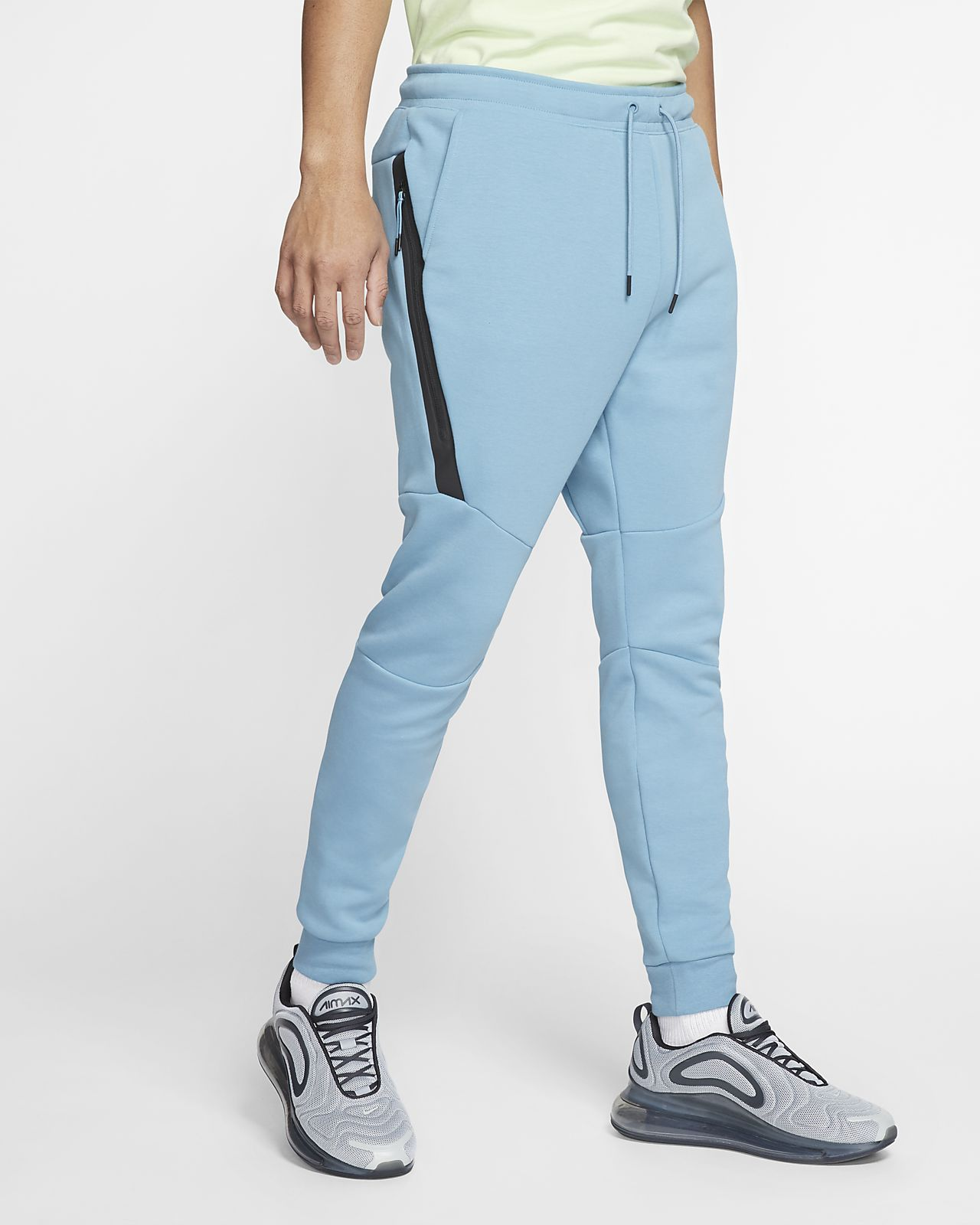 nike fleece bleu