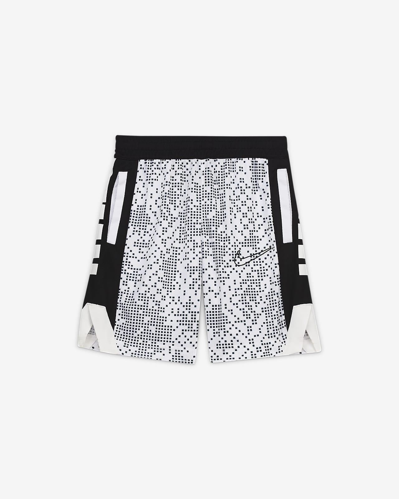Nike Dri-FIT Elite Little Kids' Printed Shorts