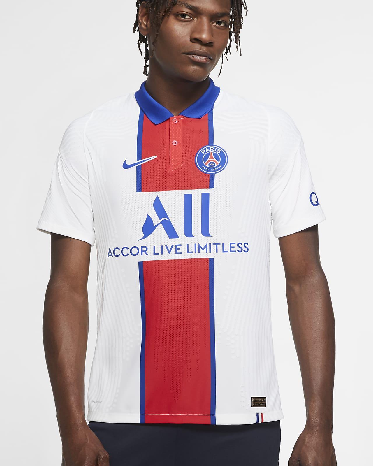 Camiseta de fútbol de visitante para hombre Vapor Match del Paris Saint-Germain 2020/21
