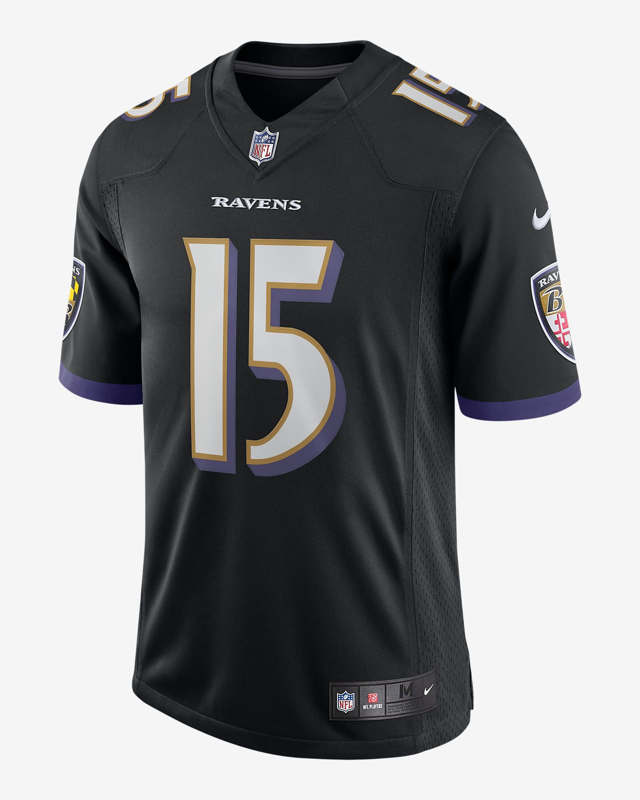 NFL Baltimore Ravens Nike Vapor Untouchable (Marquise Brown) Men's Limited Football Jersey