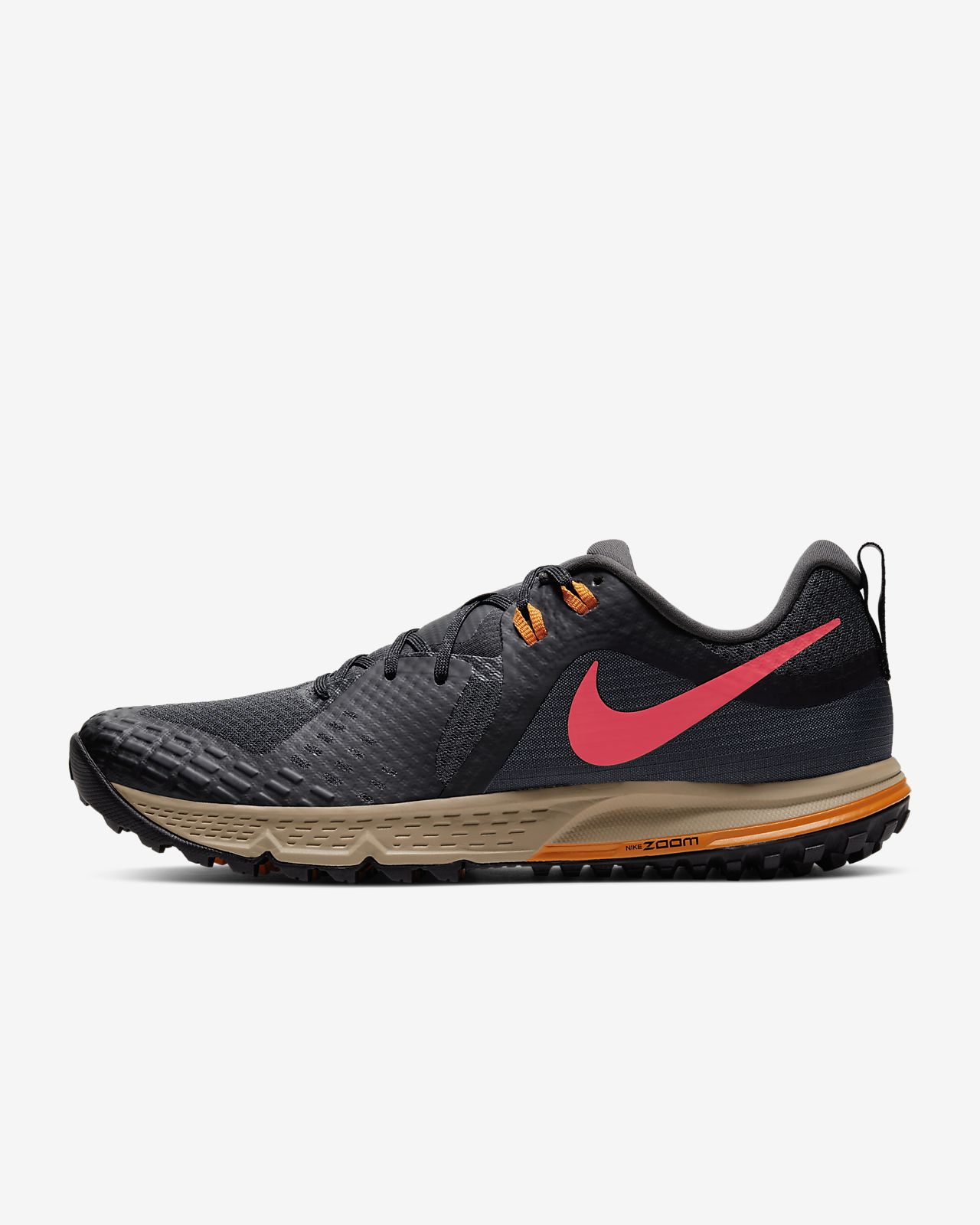 AQ2222-400 Nike Air Zoom Wildhorse 5 Men/'s Trail Running Shoes Blue 2019