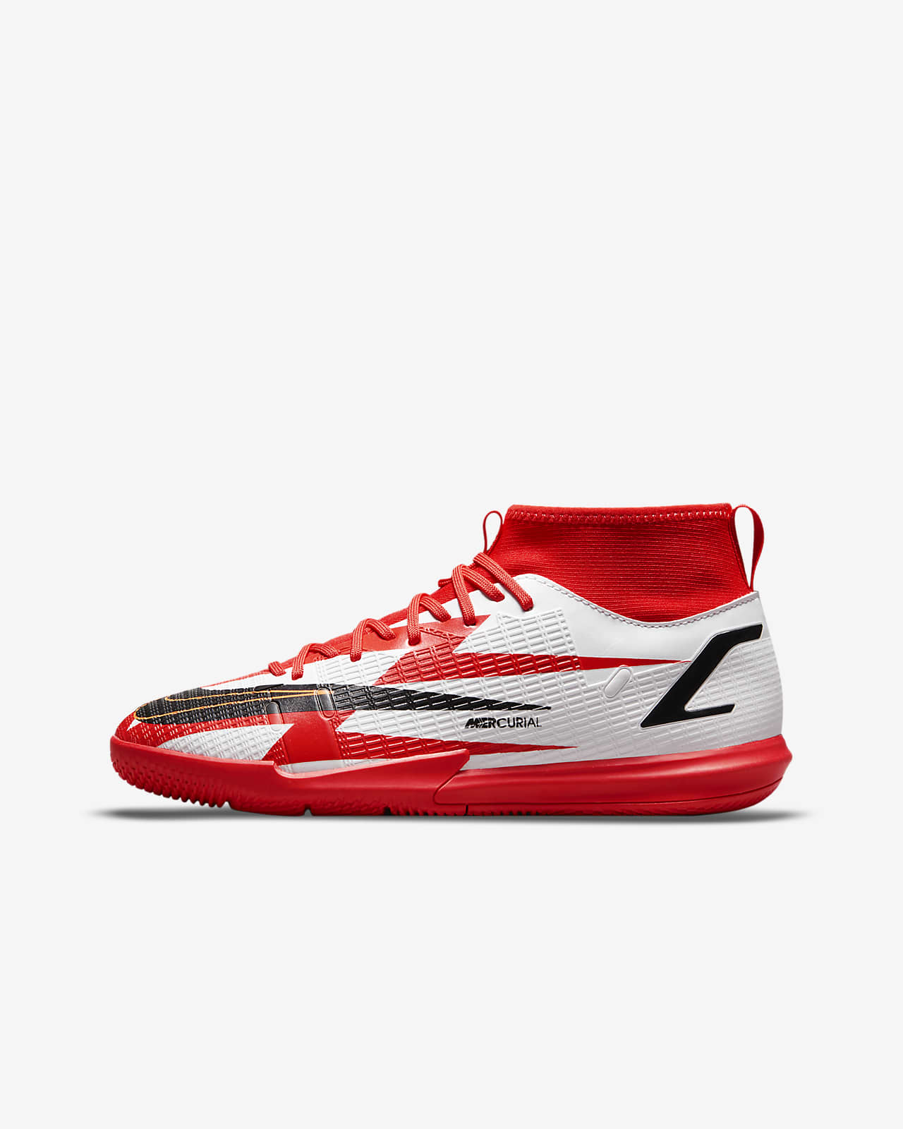 Nike Jr. Mercurial Superfly 8 Academy CR7 IC Younger/Older Kids' Indoor/Court Football Shoe