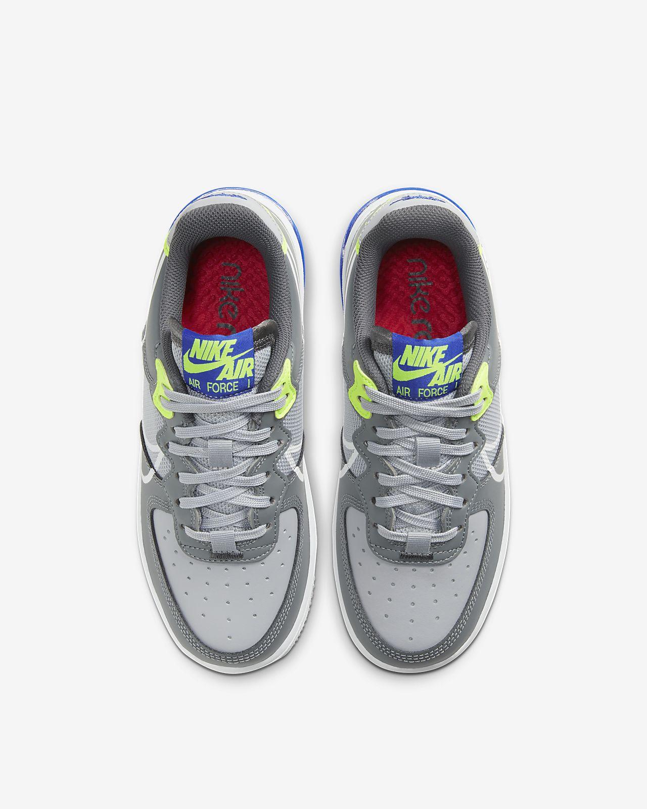 Sapatilhas Nike Air Force 1 React Júnior
