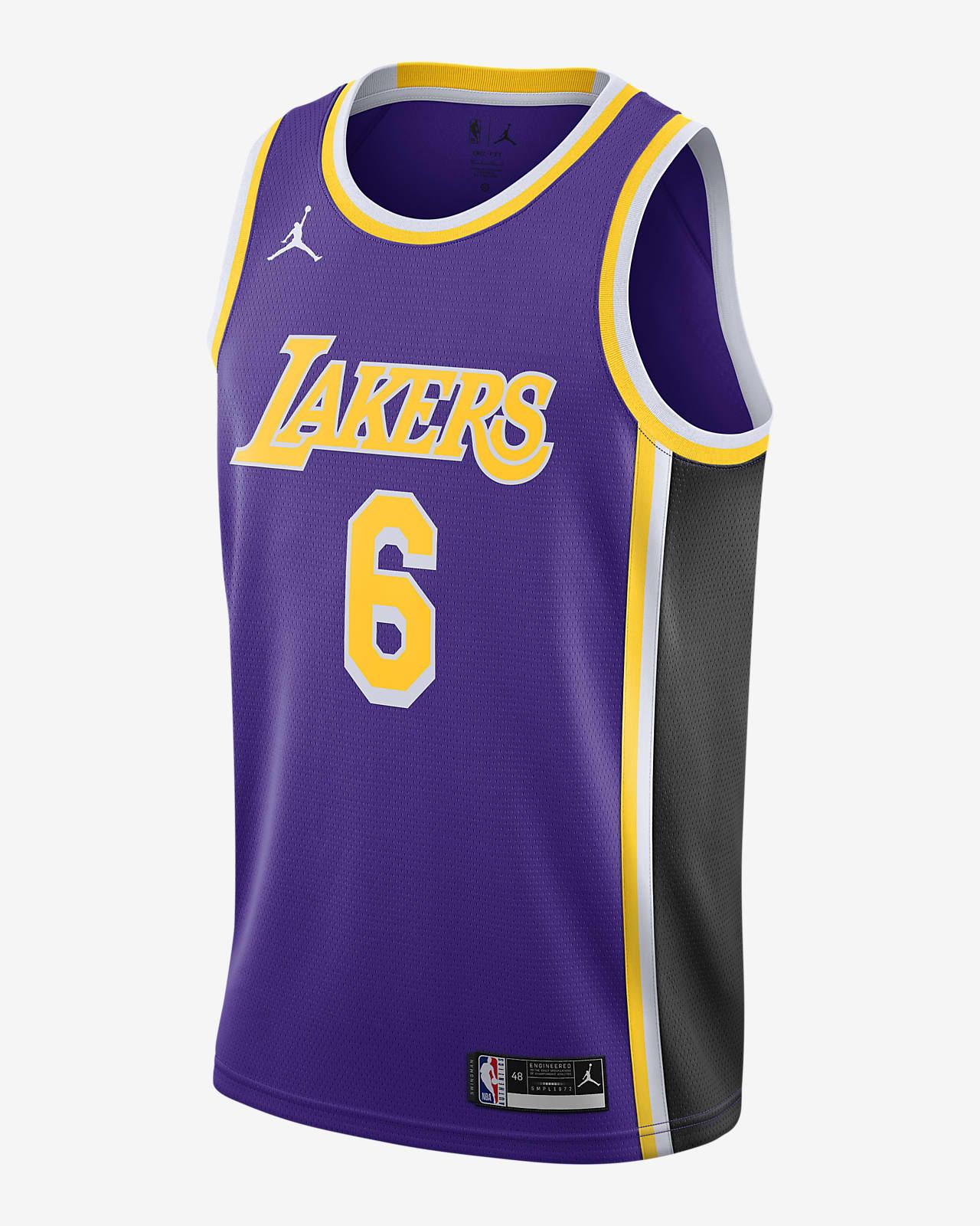 เสื้อแข่ง Jordan NBA Swingman Los Angeles Lakers Statement Edition 2020