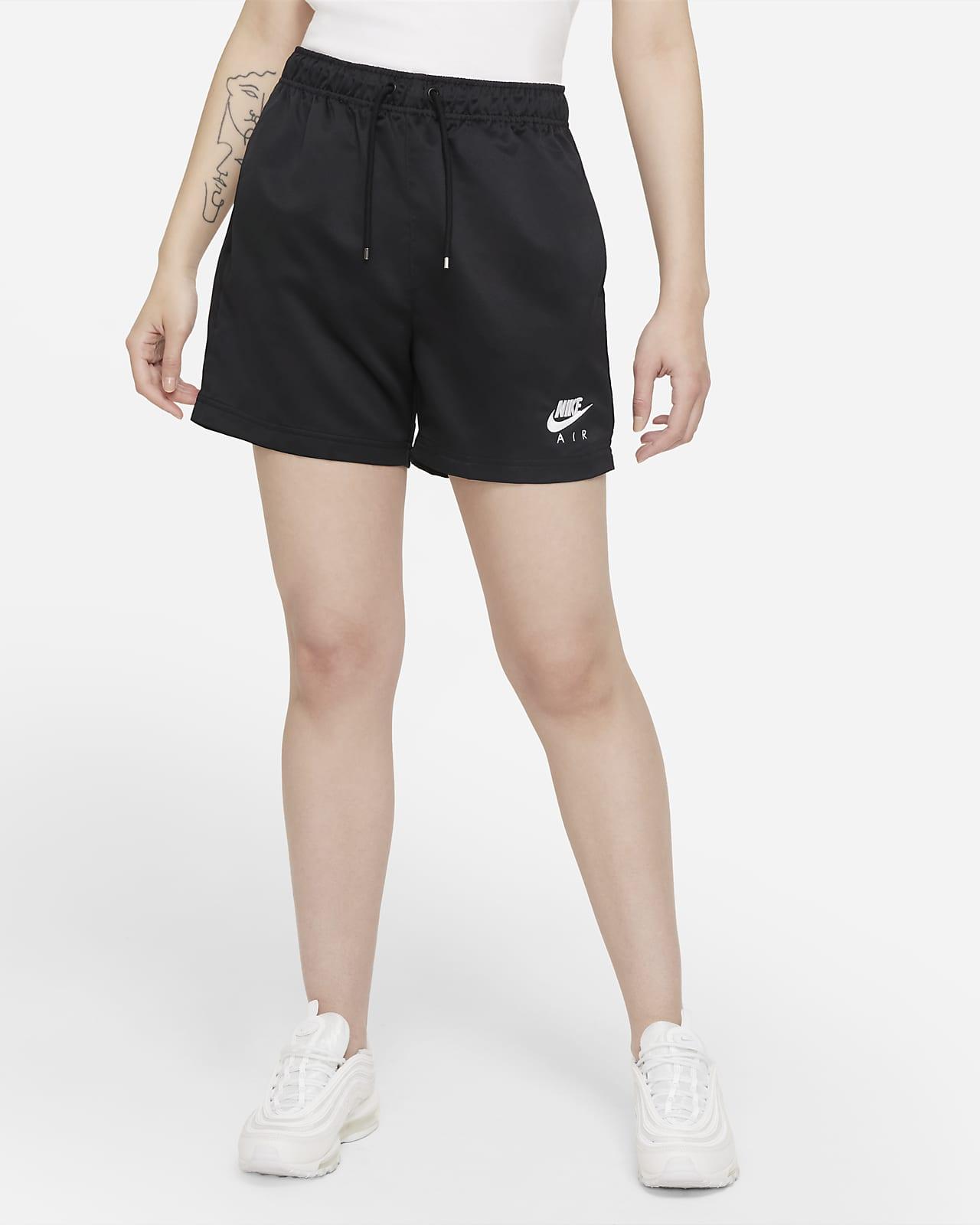 Nike Air Geweven damesshorts met hoge taille