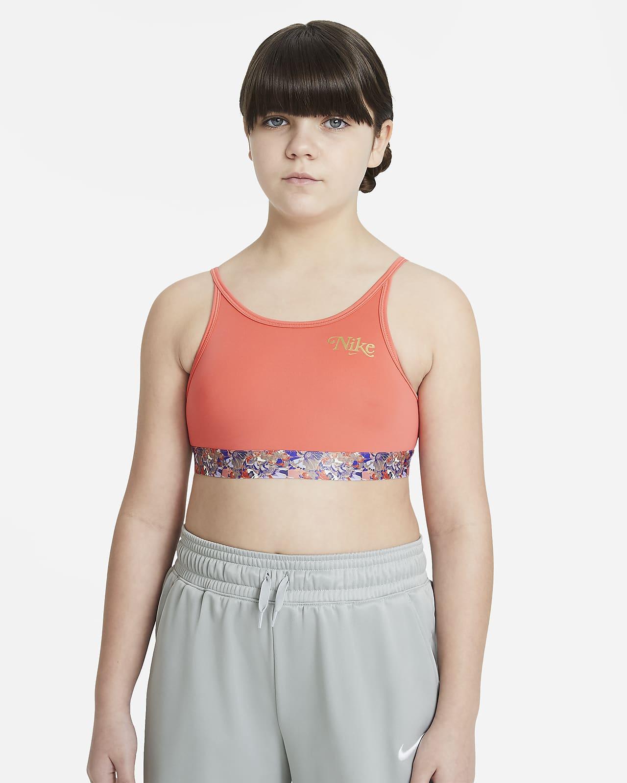 Nike Trophy Big Kids' (Girls') Sports Bra (Extended Size)