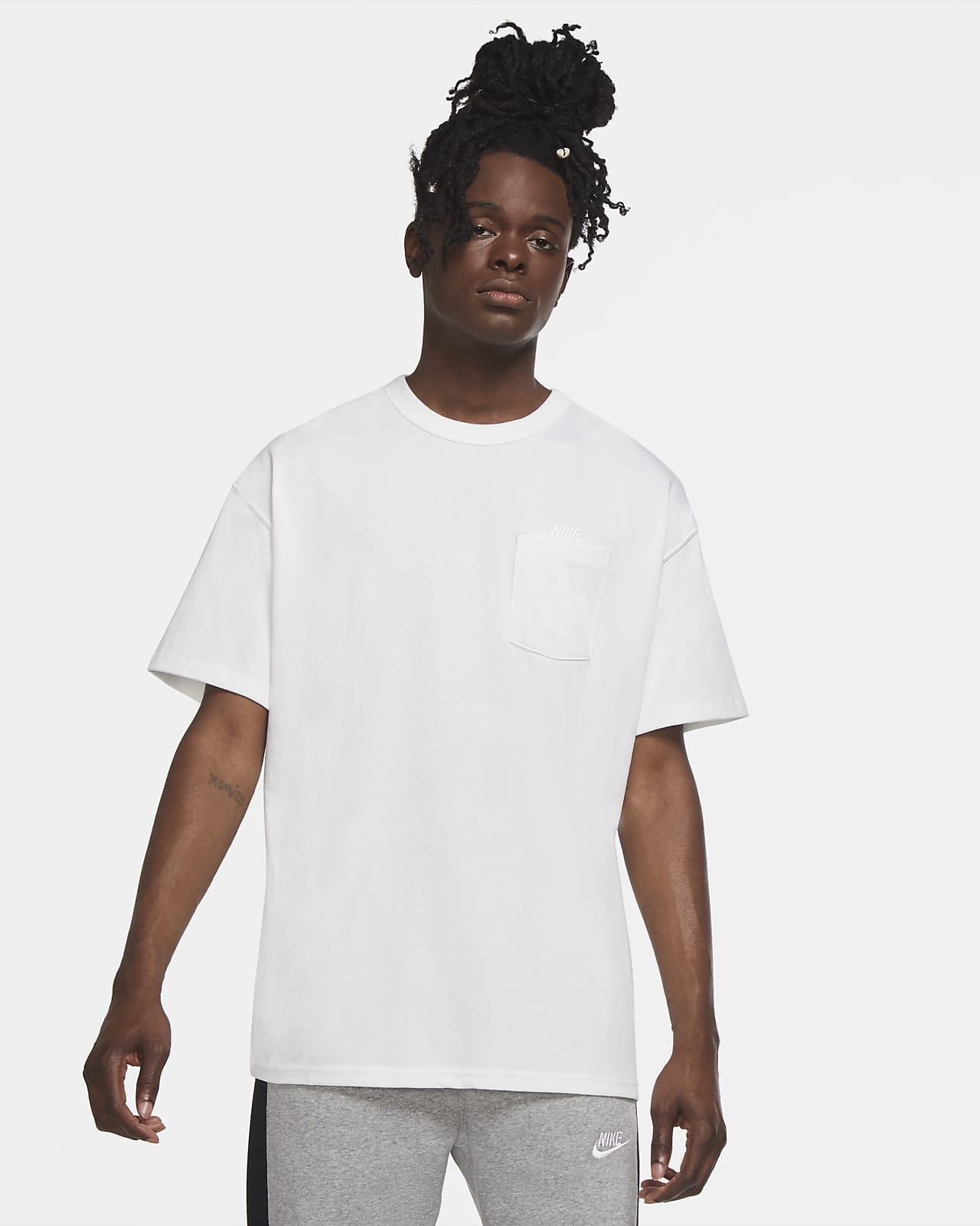 Nike Sportswear Premium Essentials Cepli Erkek Tişörtü