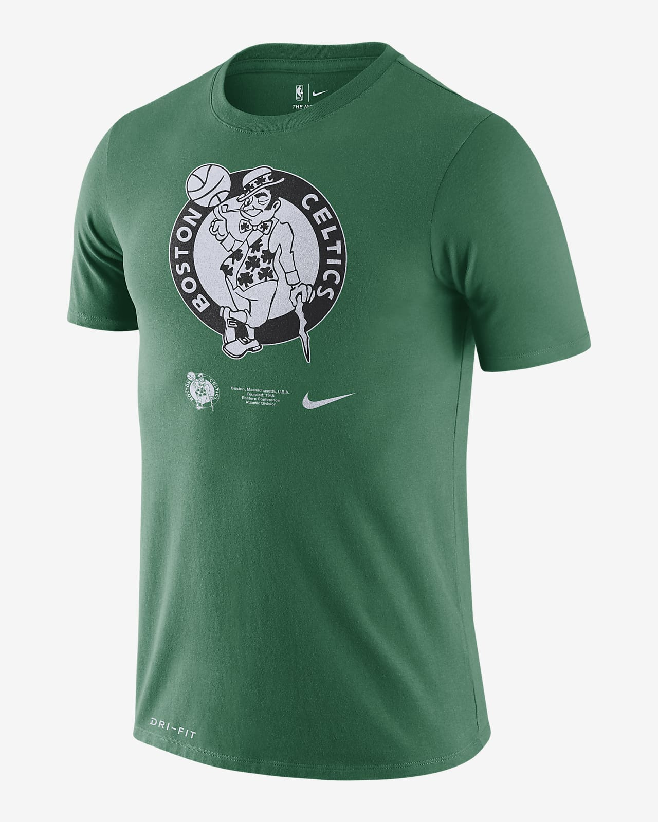 Celtics Logo Nike Dri-FIT NBA-T-Shirt für Herren