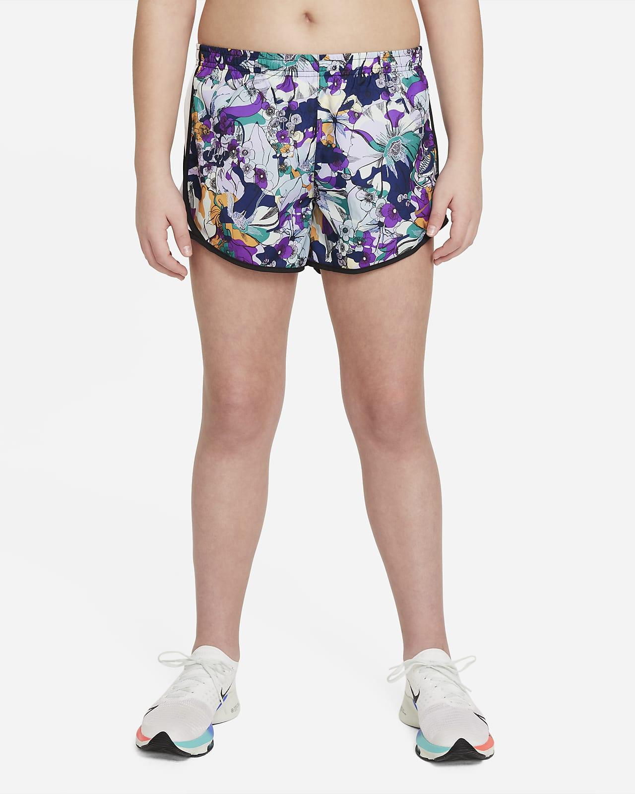 Nike Dri-FIT Tempo Big Kids' (Girls') Training Shorts (Extended Size)