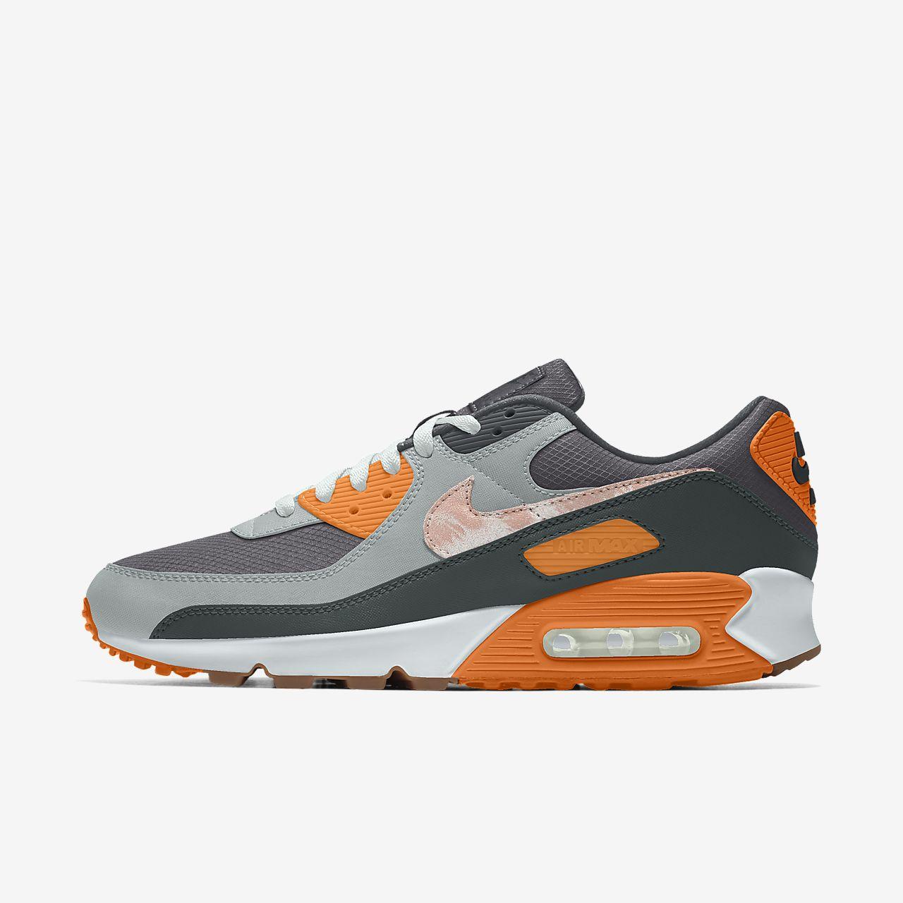 รองเท้าผู้ชายออกแบบเอง Nike Air Max 90 Unlocked By You