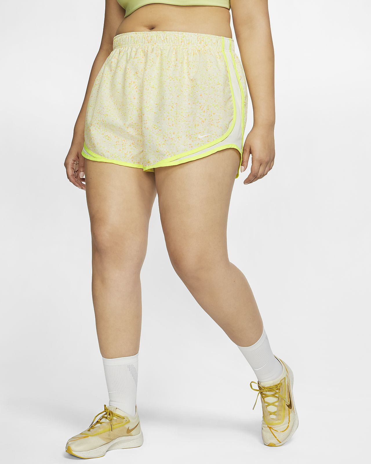 Shorts de running para mujer Nike Tempo Icon Clash (talla grande)