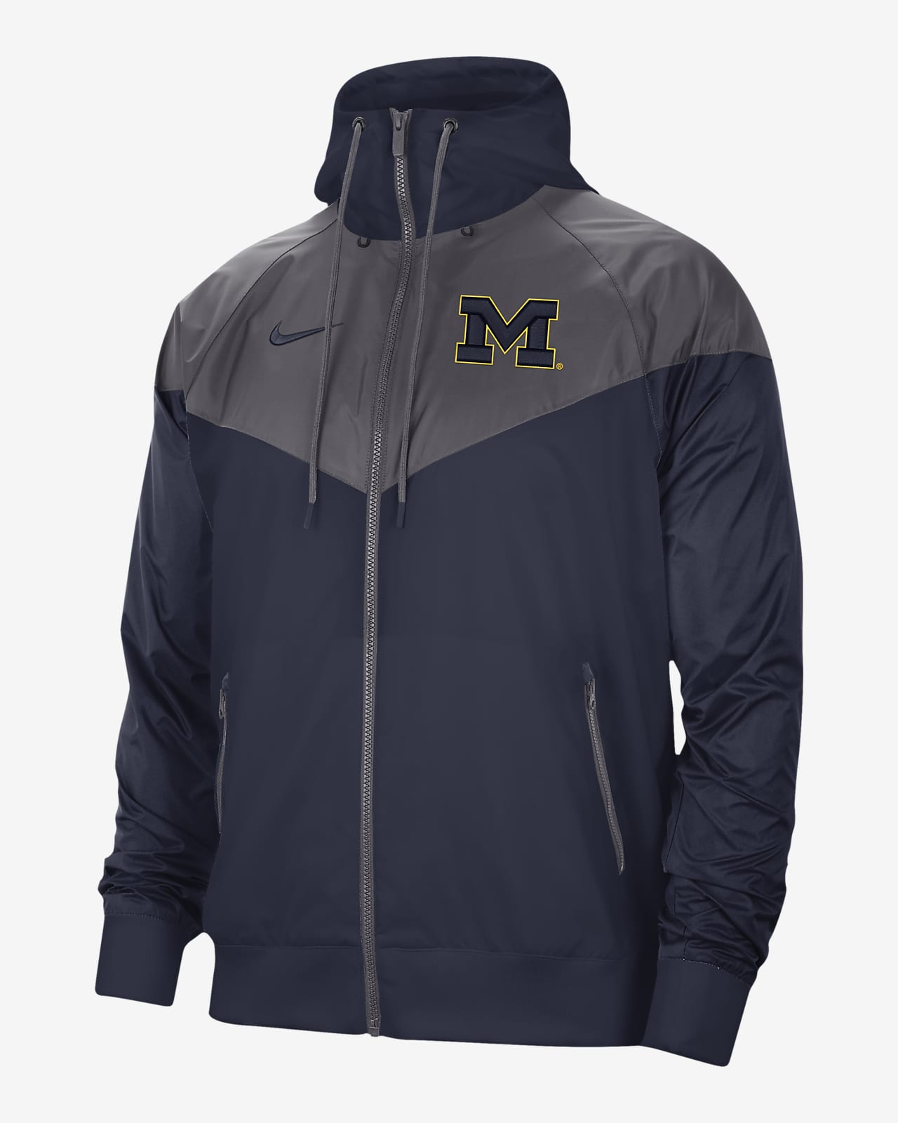 Windrunner para hombre Nike College (Michigan)
