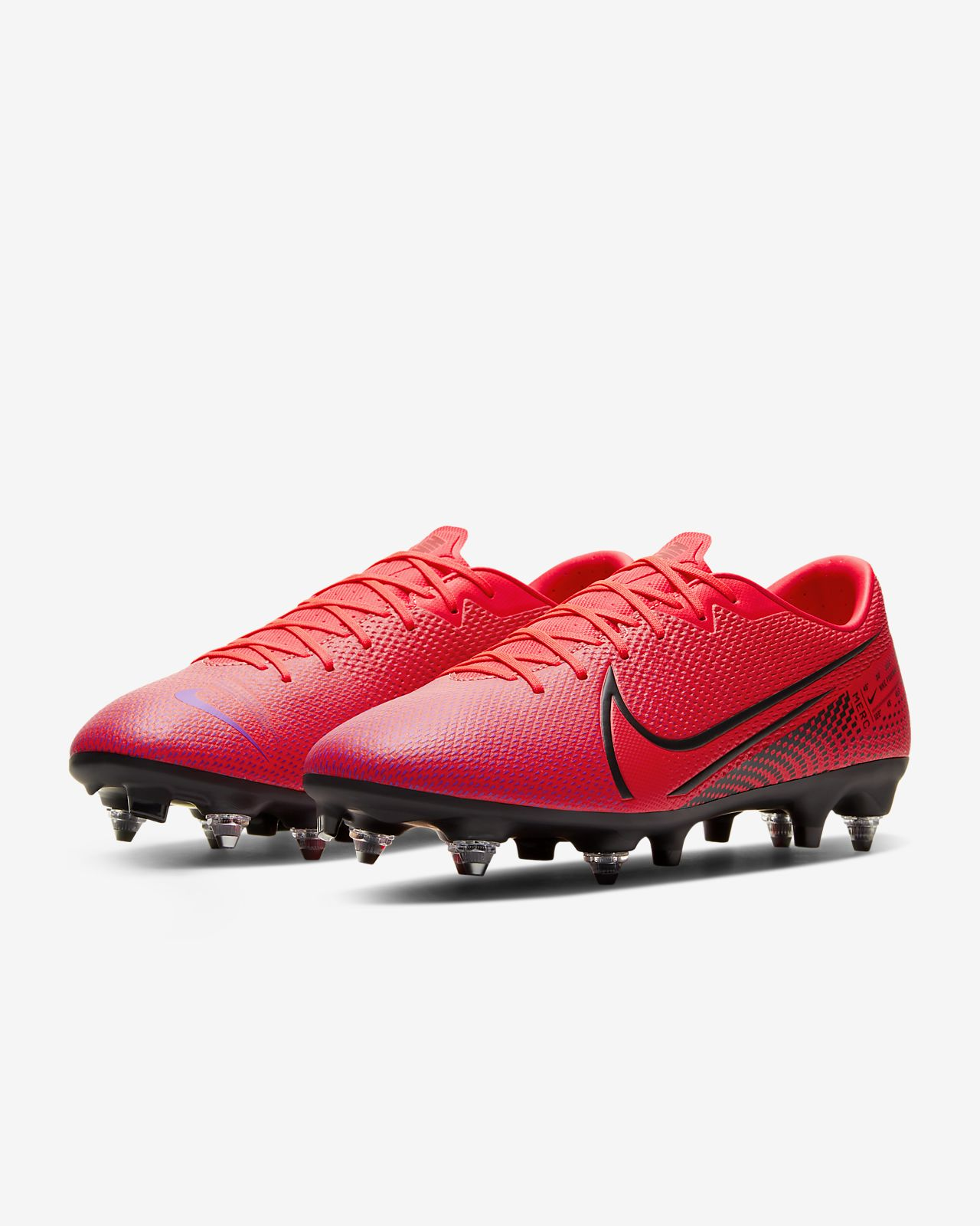 Nike Mercurial Vapor X Sg pro Cr7 BlackTotal Crimson