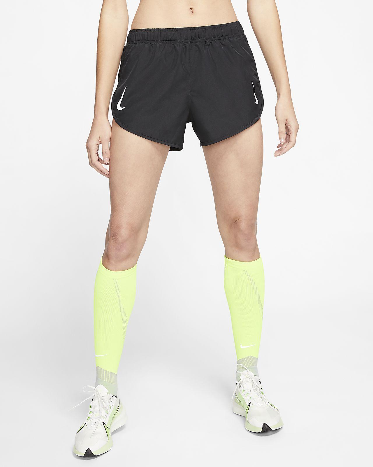 Short de running taille haute Nike Tempo pour Femme
