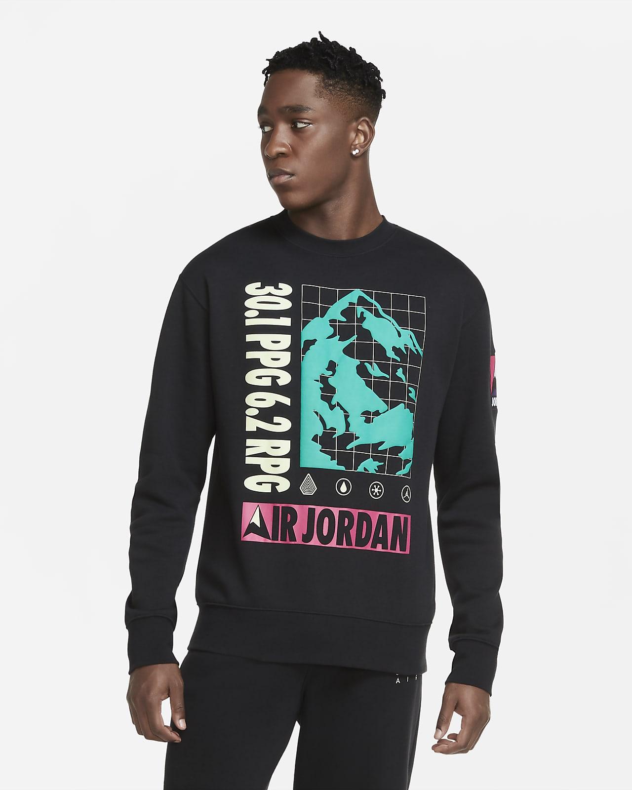 Jordan Winter Utility Fleece-Rundhalsshirt für Herren