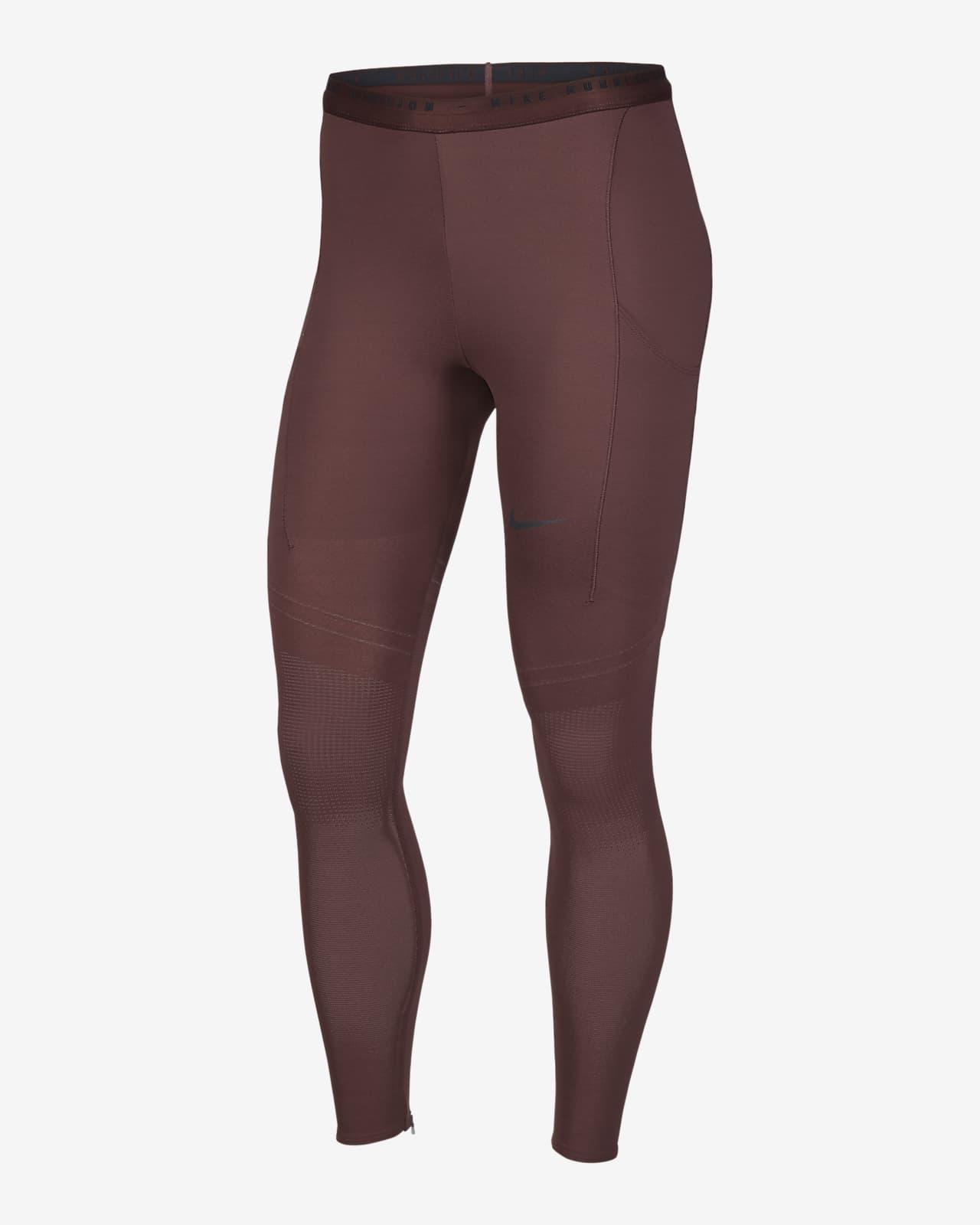 เลกกิ้งวิ่งเอวปานกลางผู้หญิงออกแบบเชิงโครงสร้าง Nike Dri-FIT ADV Run Division Epic Luxe