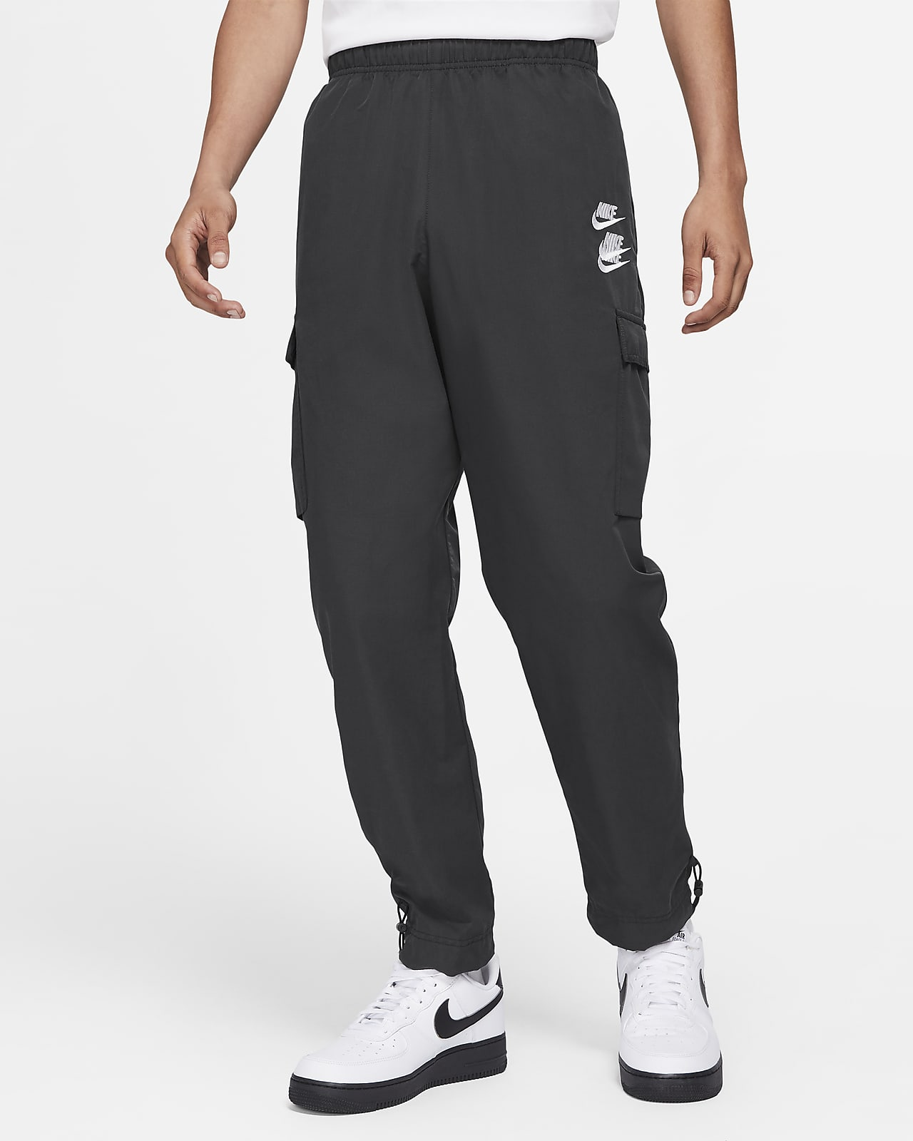 Nike Sportswear 男款梭織工作褲