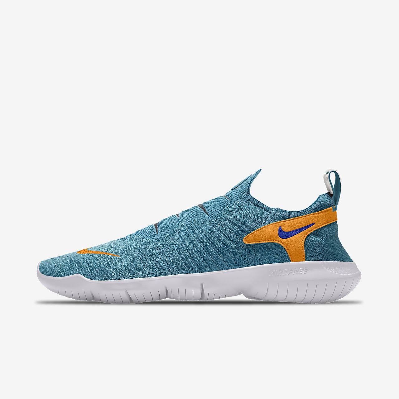 Chaussure de running personnalisable Nike Free RN Flyknit 3.0 By You pour Homme