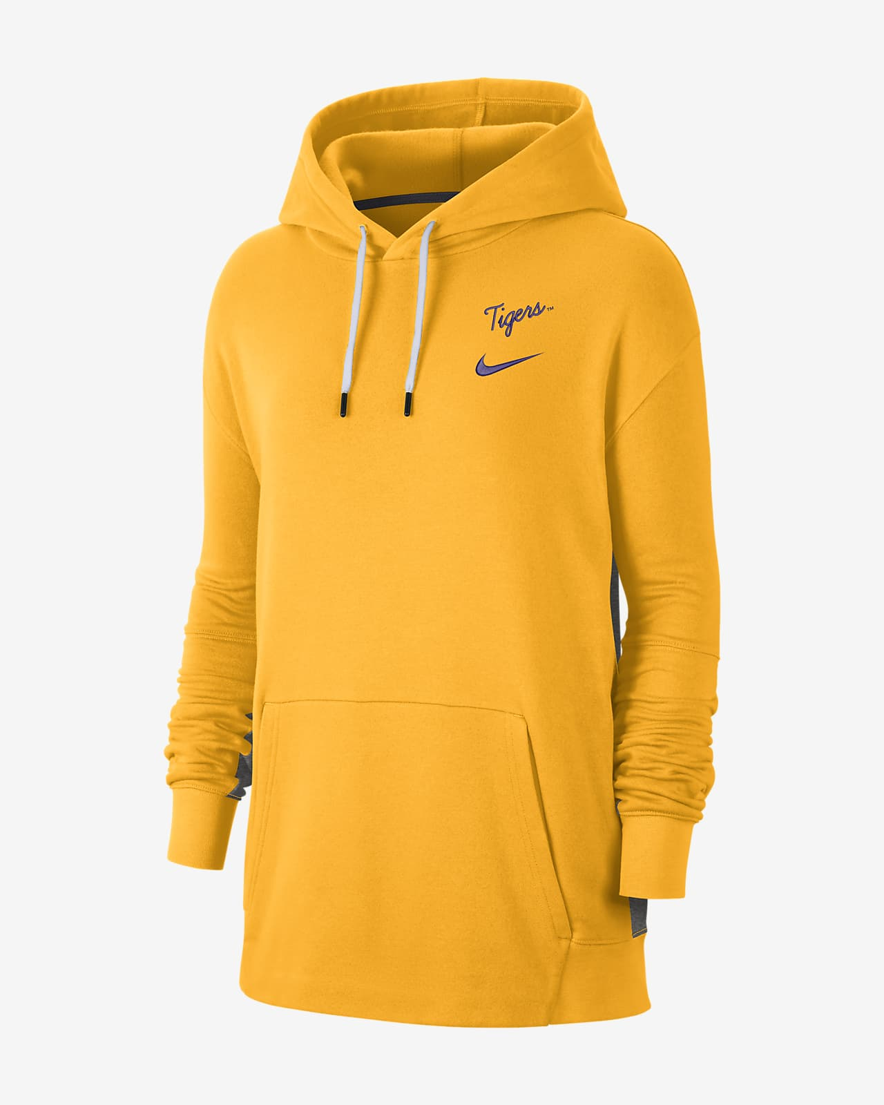 Nike College (LSU) Women's Fleece Pullover Hoodie