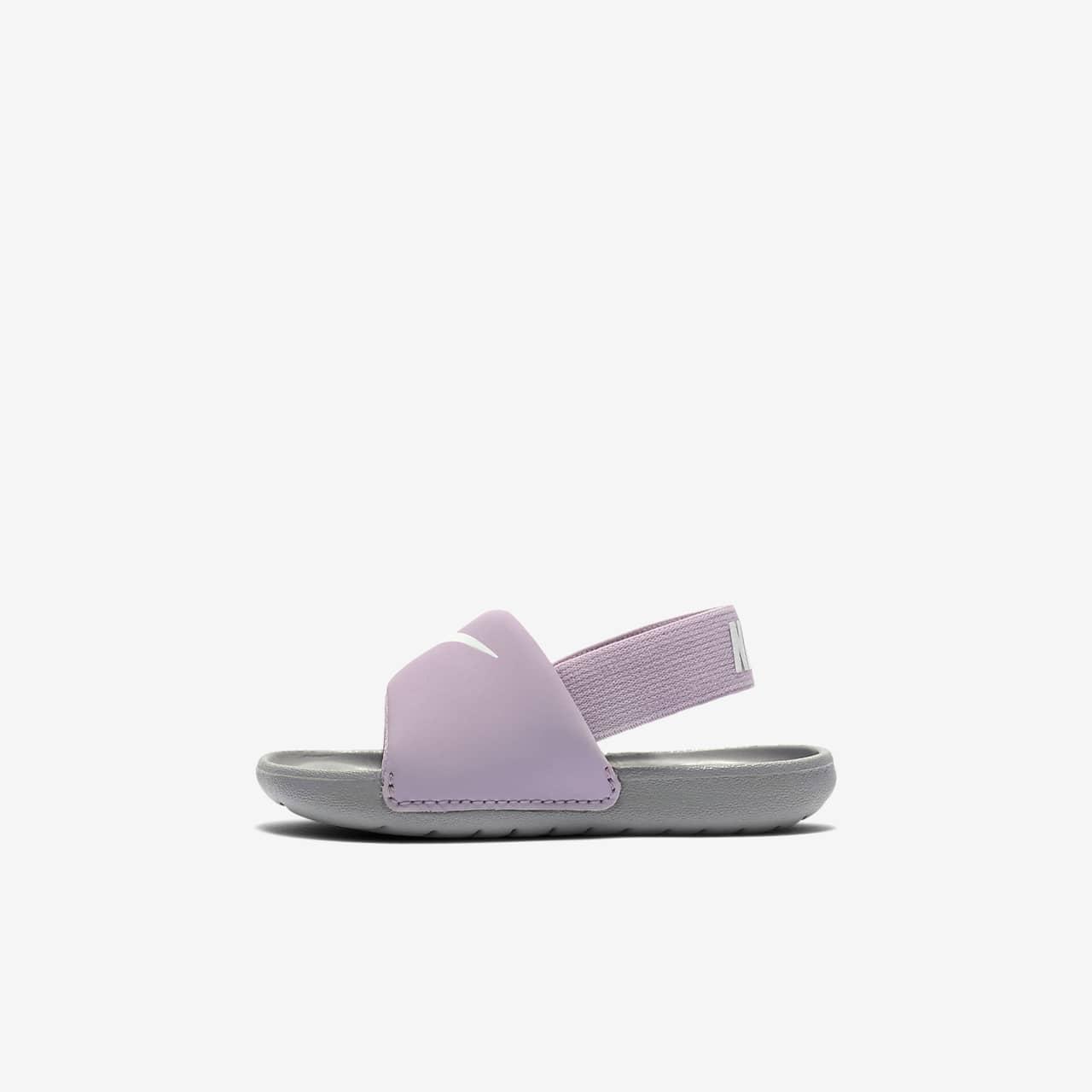 Klapki dla niemowląt/maluchów Nike Kawa
