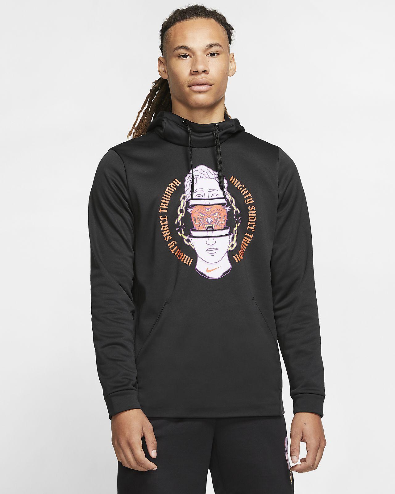 Nike Therma træningshættetrøje til mænd