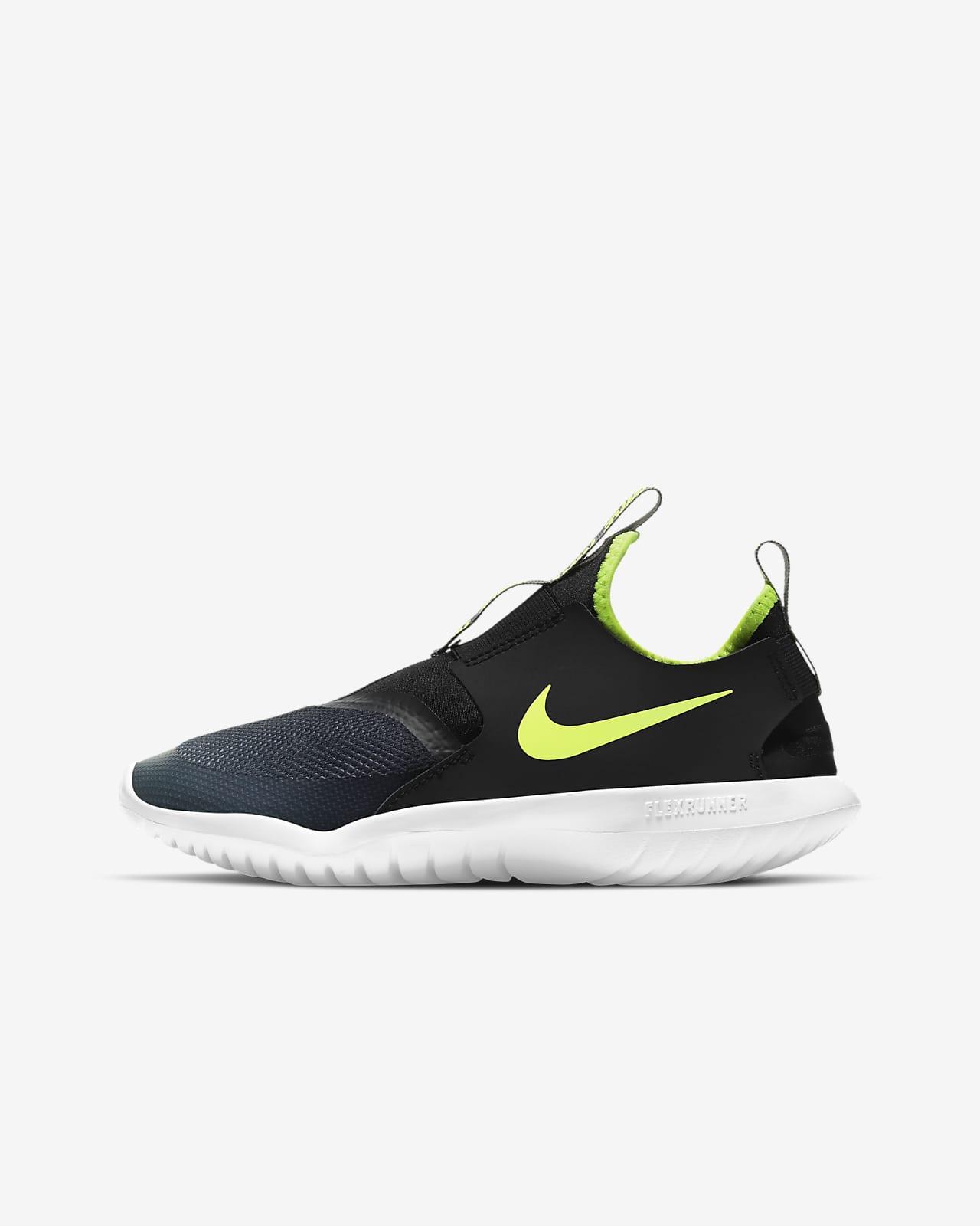 Calzado de running para carretera para niños talla grande Nike Flex Runners