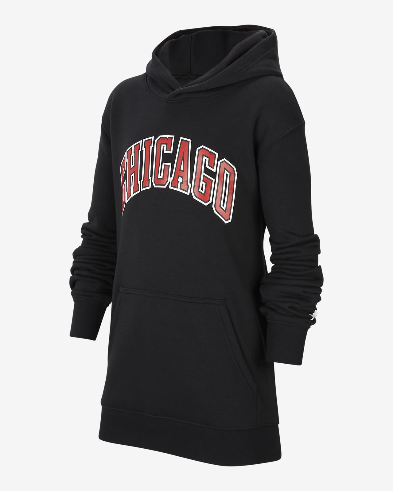 Chicago Bulls Statement Edition Older Kids' Jordan NBA Pullover Hoodie