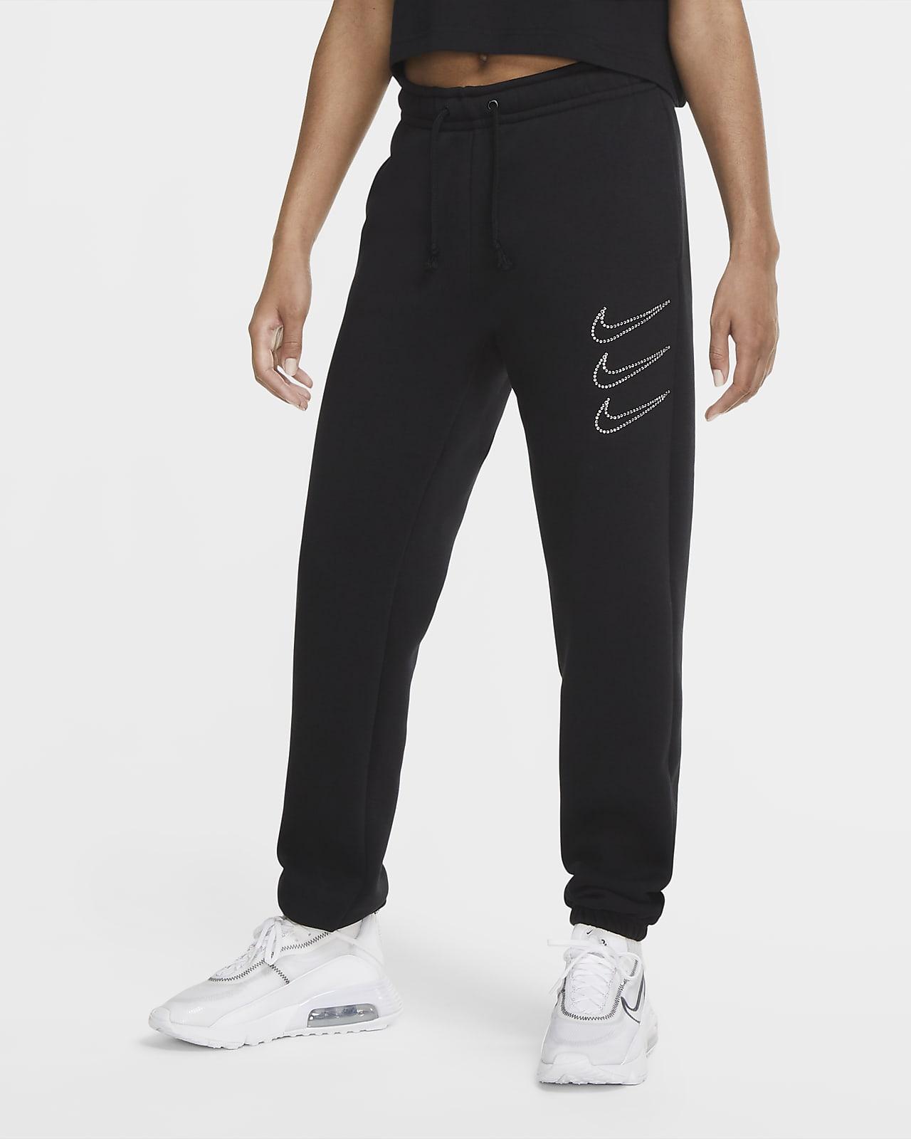 Nike Sportswear Rhinestone Fleecebroek voor dames
